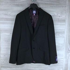 The Saville Row Co Brixton Brit Skinny Suit Blazer